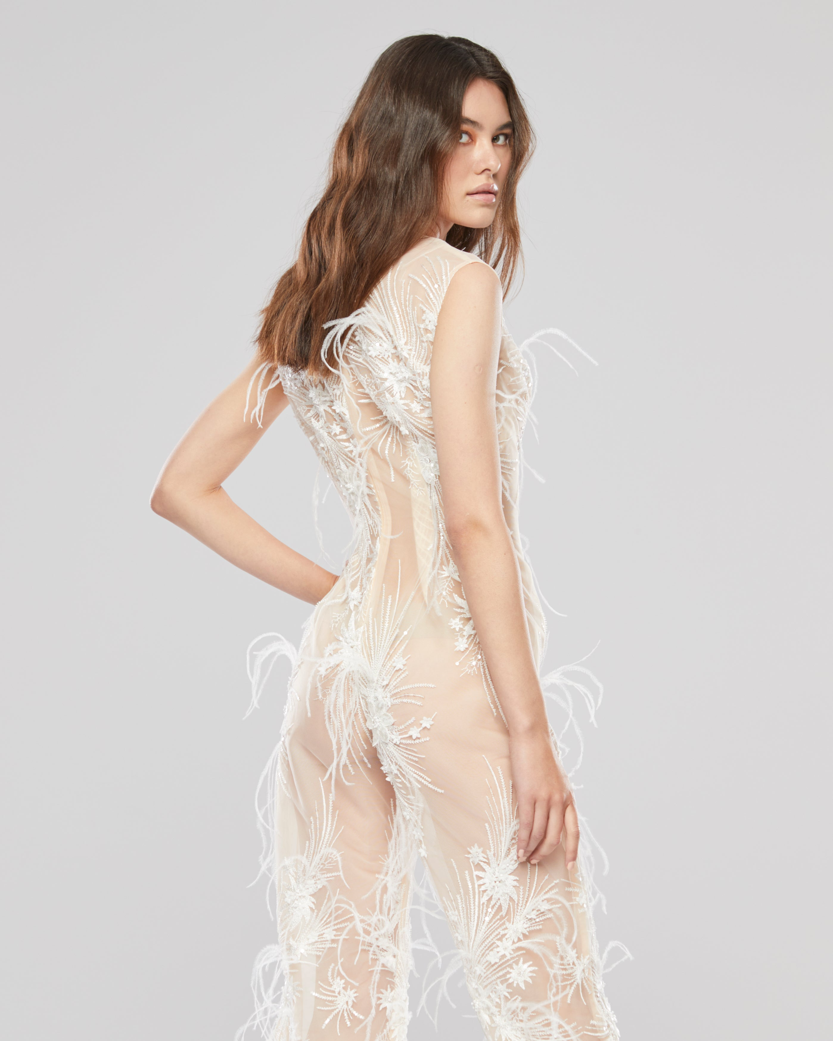 Feather Jumpsuit