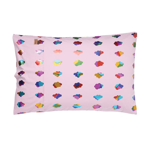 Cloudy Days Delight Single Pillowcase