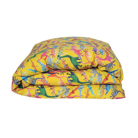 Dino Sulfur Reverse Galapagos Green Quilt Cover