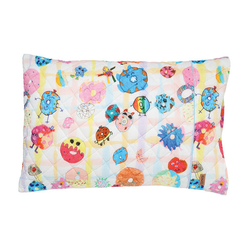 Donut Eat Me Quilted Single Pillowcase