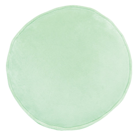 Honeydew Velvet Pea Cushion
