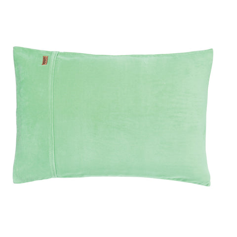 Honeydew Velvet Single Pillowcase