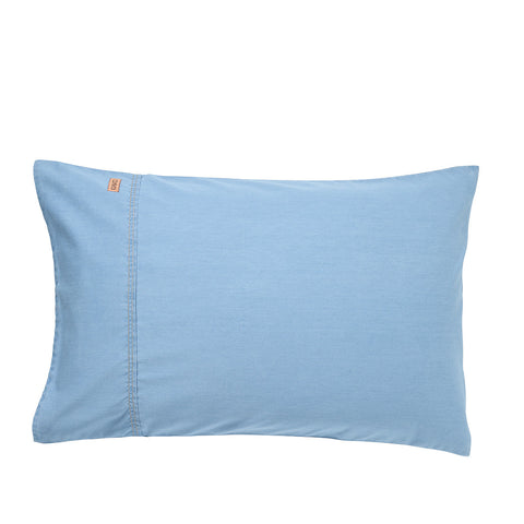 Light Denim Pillowcase Set