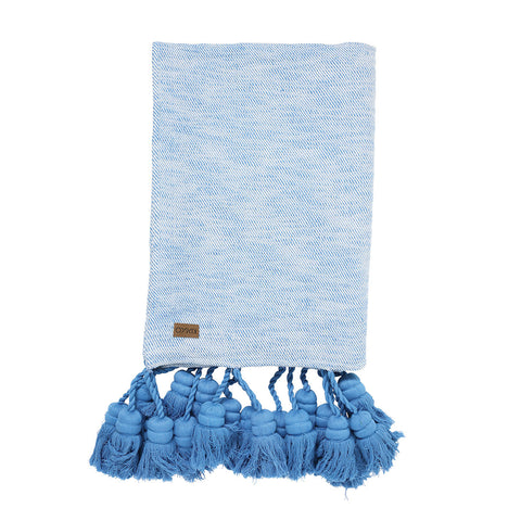Marina Tassel Throw