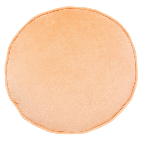 Peach Sorbet Velvet Pea Cushion