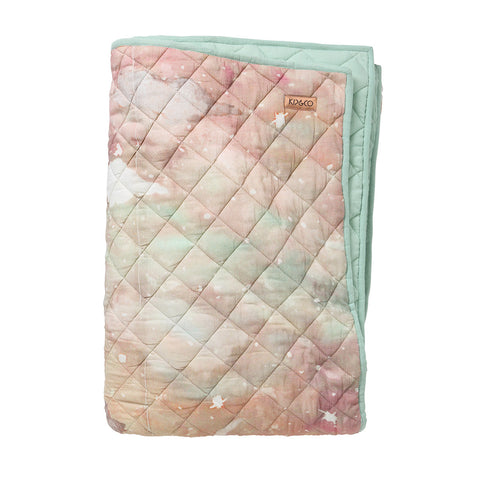 Starry Day Quilted Bedspread - Cot