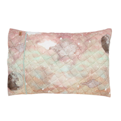 Starry Day Quilted Single Pillowcase