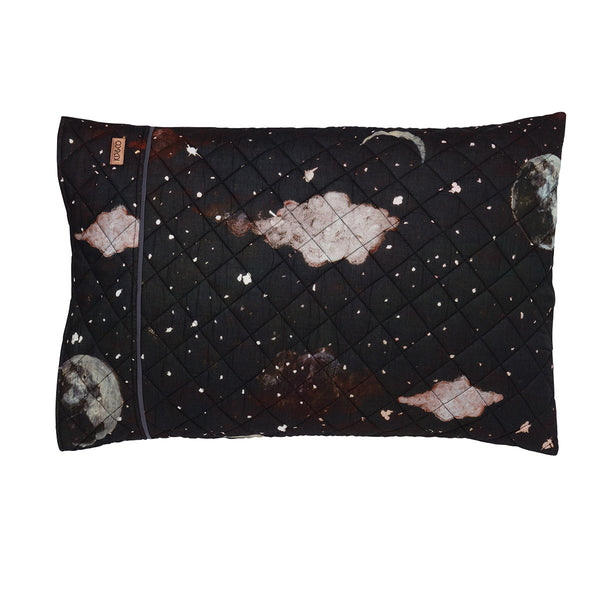 Starry Night Quilted Single Pillowcase