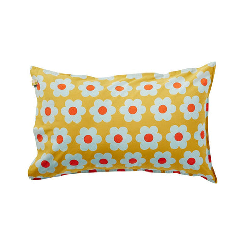 Lucie Sunflower Pillowcase