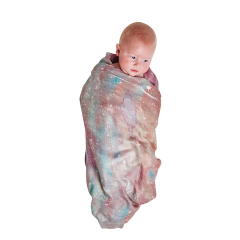 Starry Day & Starry Night Bamboo Swaddle Set