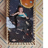 Starry Night Fitted Sheet Baby - Cot