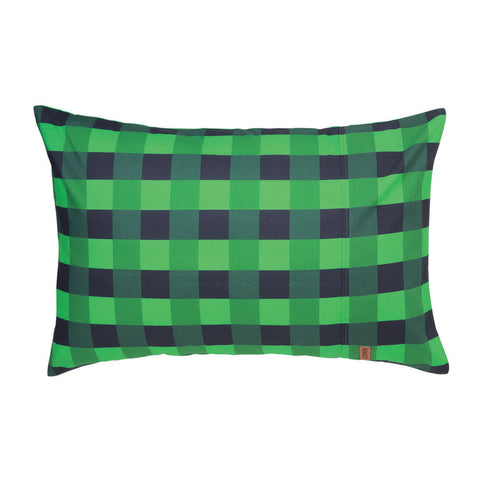 Apple Green Tartan Pillowcase