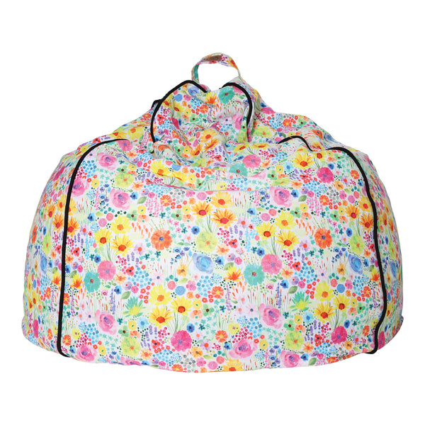 Blooming Days Canvas Beanbag