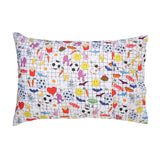 Grid Critters Single Pillowcase