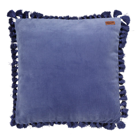 Marine Velvet Tassel Cushion Cover