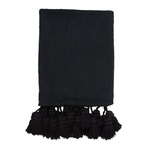 Phantom Tassel Bed Throw/Blanket