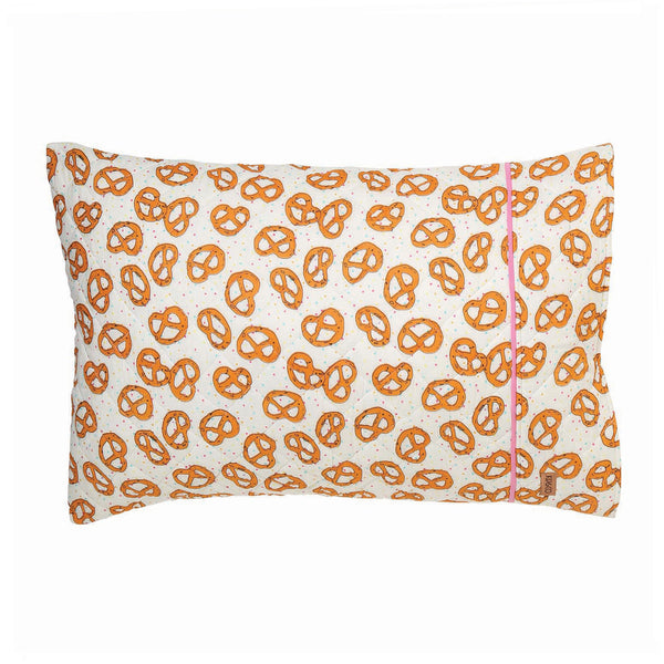 Pretzel Quilted Single Pillowcase