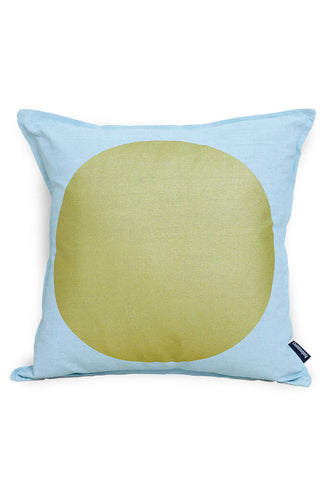 All that Glitters - Gold and Aqua Cushion Cover