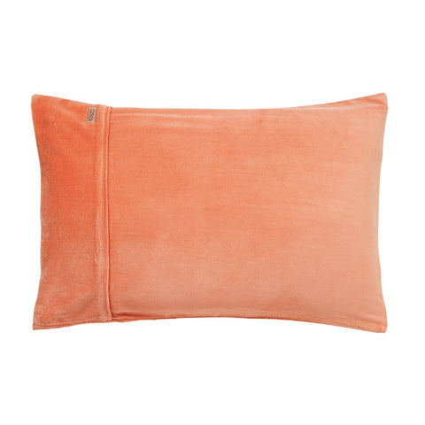 Copper Velvet Pillowcase Set