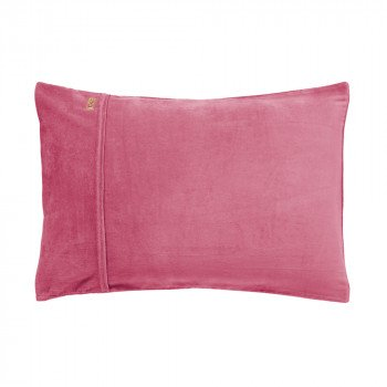 Dark Rose Velvet Pillowcase