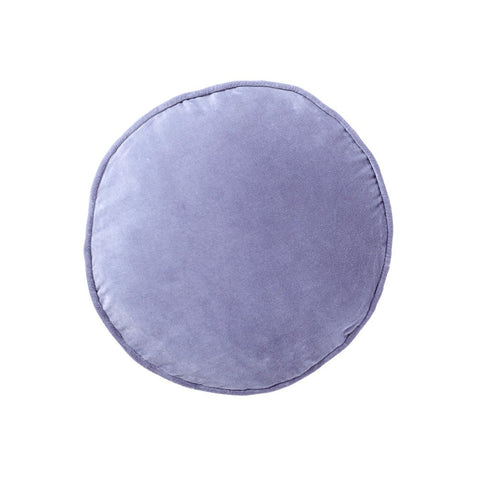 Marine Velvet Pea Cushion