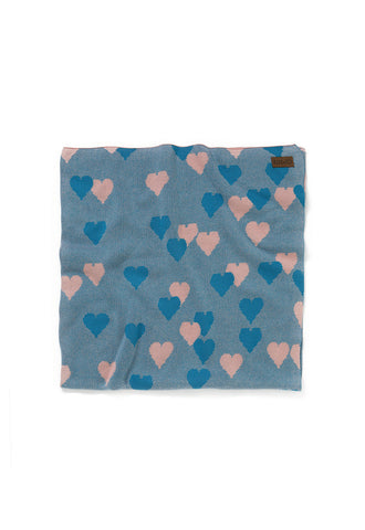 Lover Teal Baby Blanket