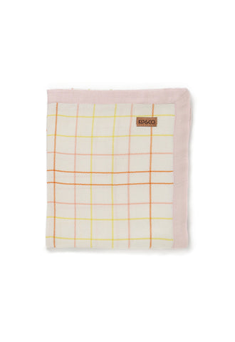 Pink Eat Baby Bamboo Swanky Blanky