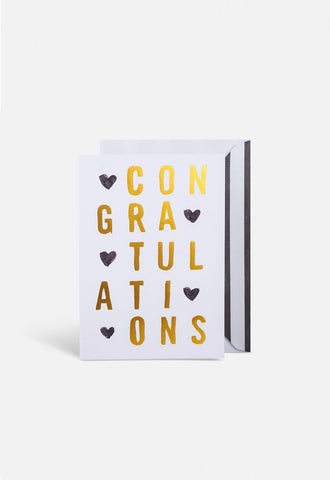 """Congratulations"" Gift Card by Blacklist"