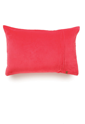 Diva Pink Velvet Pillowcase 1 pack