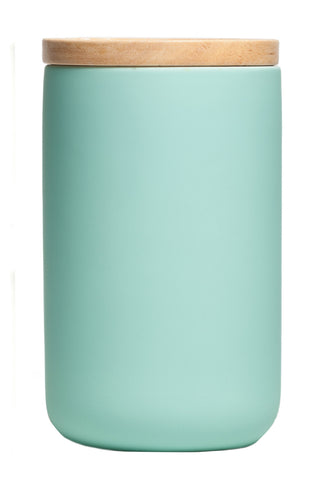 Tall Canister Matt Mint by General Eclectic