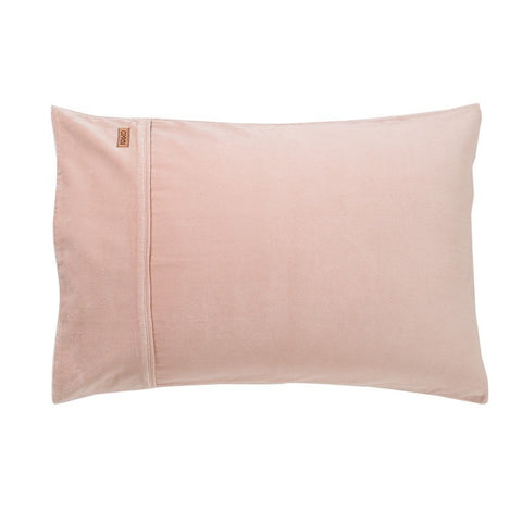 Dusk Pink Velvet Pillowcase Set