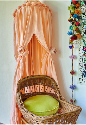 Peach Bed Canopy