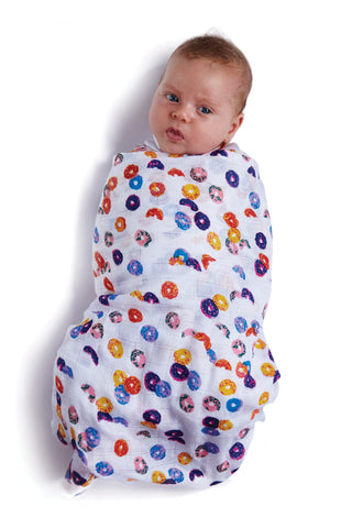 Mermaids and Loopy Nap Wrap Swaddles Bamboo 2 Pack