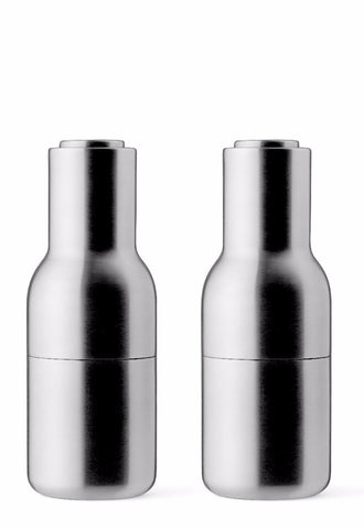 Menu Bottle Grinders Brushed Stainless Steel