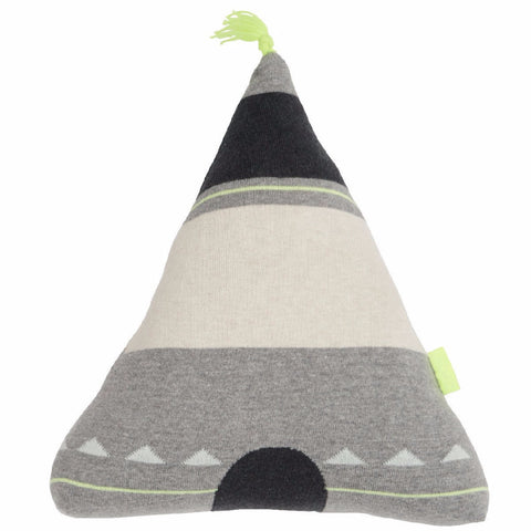 OYOY Wigwam Tee Pee Cushion Yellow