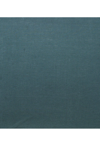 Deep Teal Linen Flat Sheet