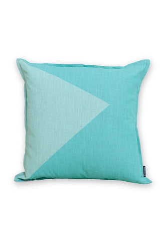 Wave the Flag - Mint Cushion Cover