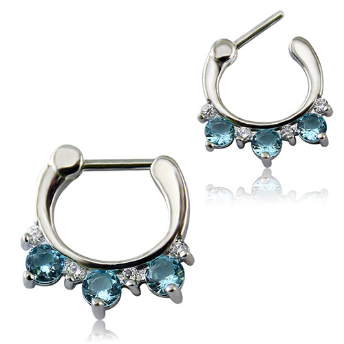 1 Pc Fashion Women/men Septum rings 16 Styles Clickers Septums 316L