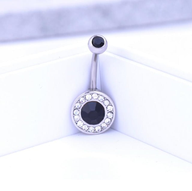 1 Piece hot Body Piercing Jewelry Silver Plated Bar Ball Barbell Belly