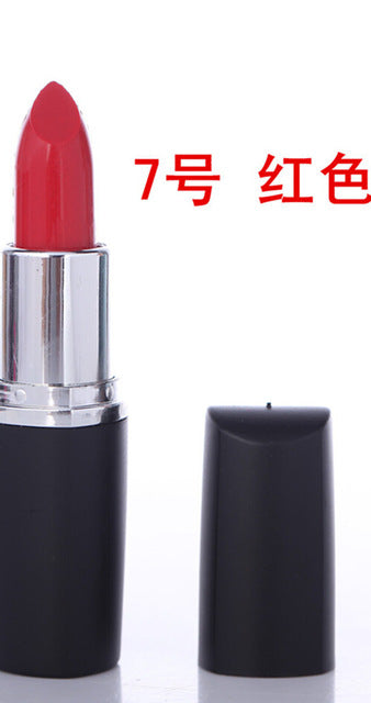 2017 Matte Makeup Vampire Dark Red Lipstick Cosmetic Punk Purple