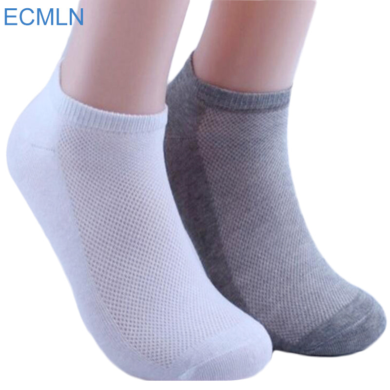 5Pairs Womens Socks Ankle Socks Summer Thin Boat Socks Female Solid