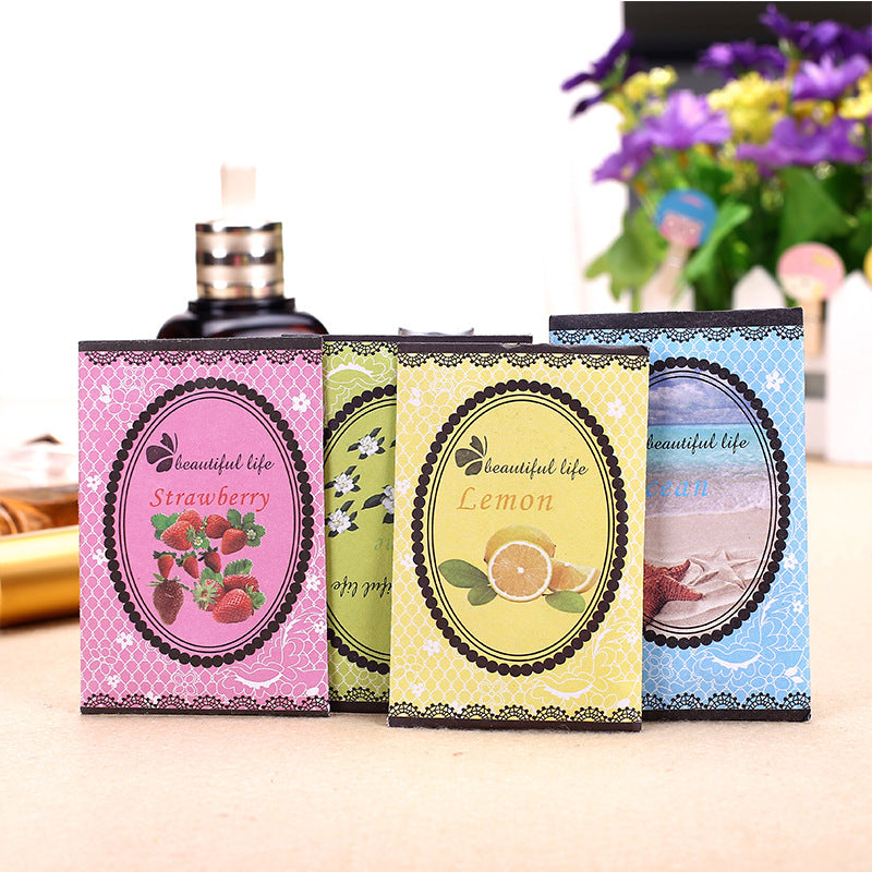 10Pcs /Pack Aromatherapy Natural Smell Incense Wardrobe Sachet Air