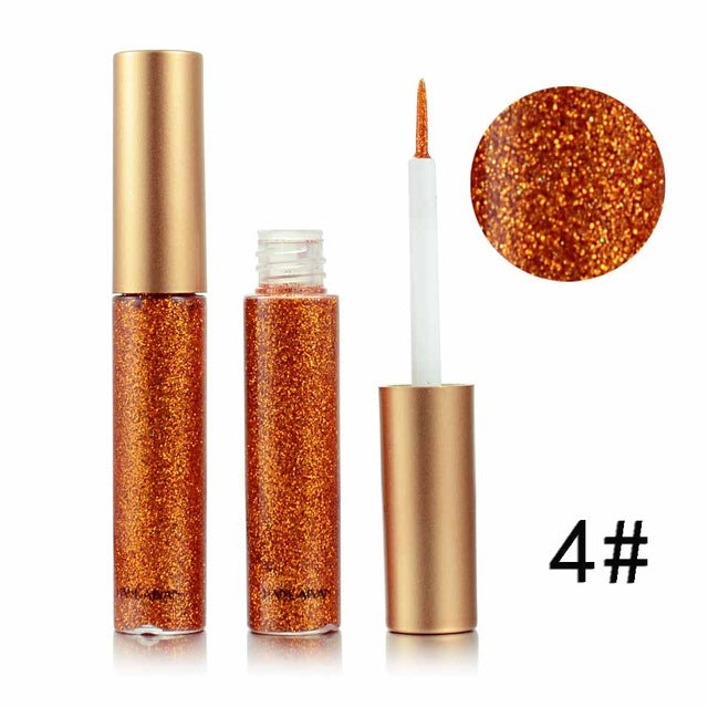 2017 New Glitter Eyes Make Up Liner For Women Easy to Wear