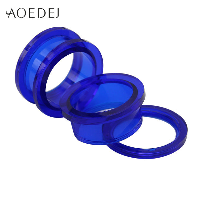 1.6-25mm Acrylic Ear Plugs And Tunnels Ear Gauges Piercing Expander