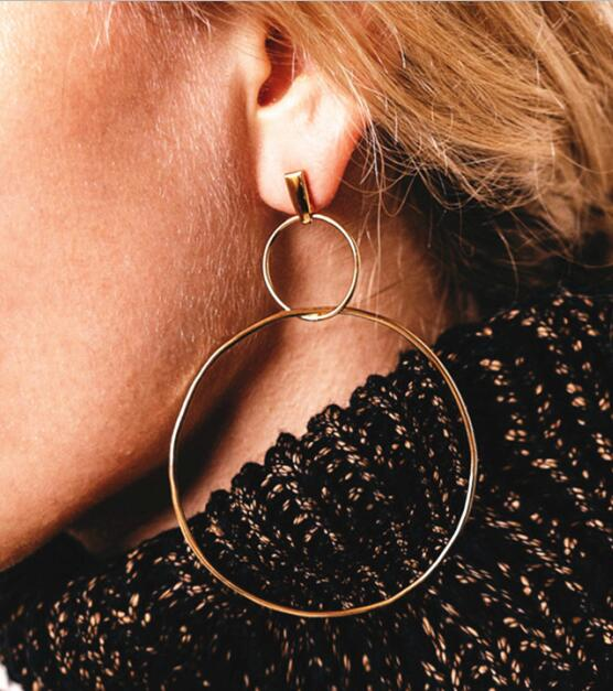 2017 New Vintage gold Color Earrings For Women Style Accessories
