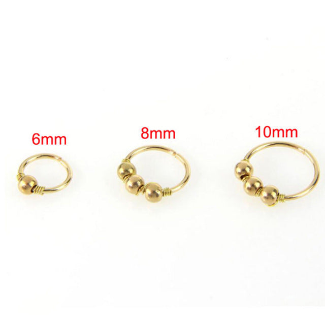 Fashion 1Pc High Quality Nostril Hoop Nose Ring Nose Earring