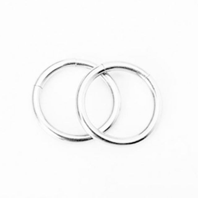 1 Piece 3 Colors Nose Hoop Nose Rings Stainless Steel Body Piercing