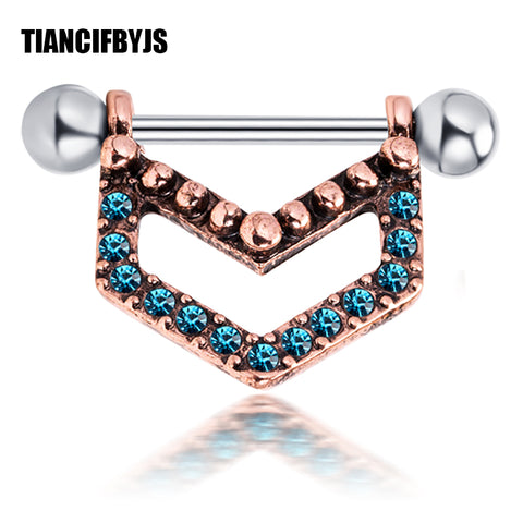 TianciFBYJS Steel Tongue Bar Straight Barbell Piercing Tragus Nipple