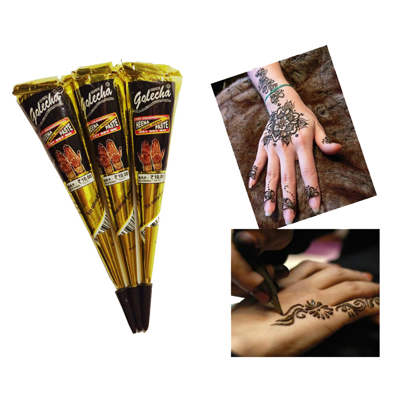 1pc New Arrivals Body Art Paint High Quality Mini Natural Indian