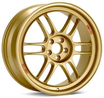 Enkei RPF1 17x8 5x100 45mm Offset 73mm Bore Gold Wheel - Dialed In Racing